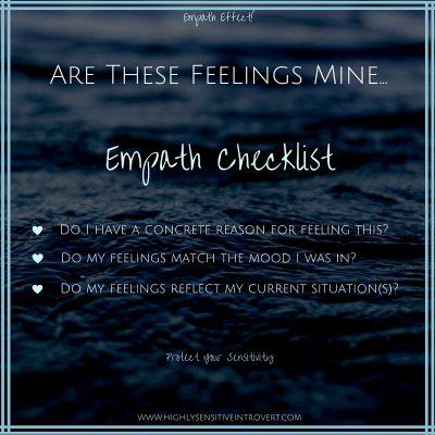 My Feelings Chack List