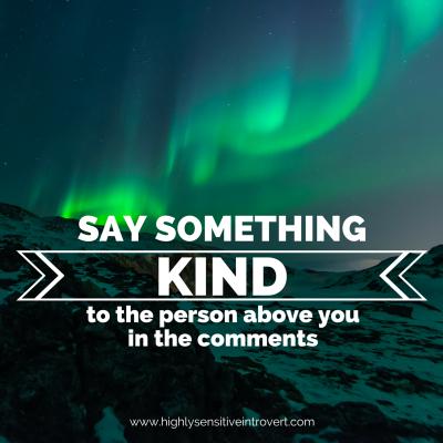 Say Something Kind